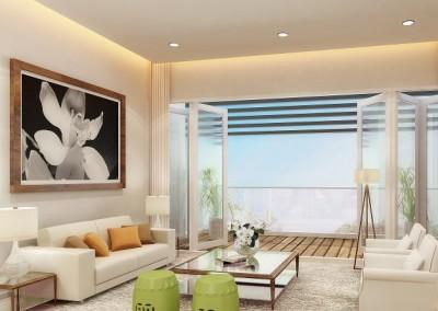 One Jalan Gadong - Living Room