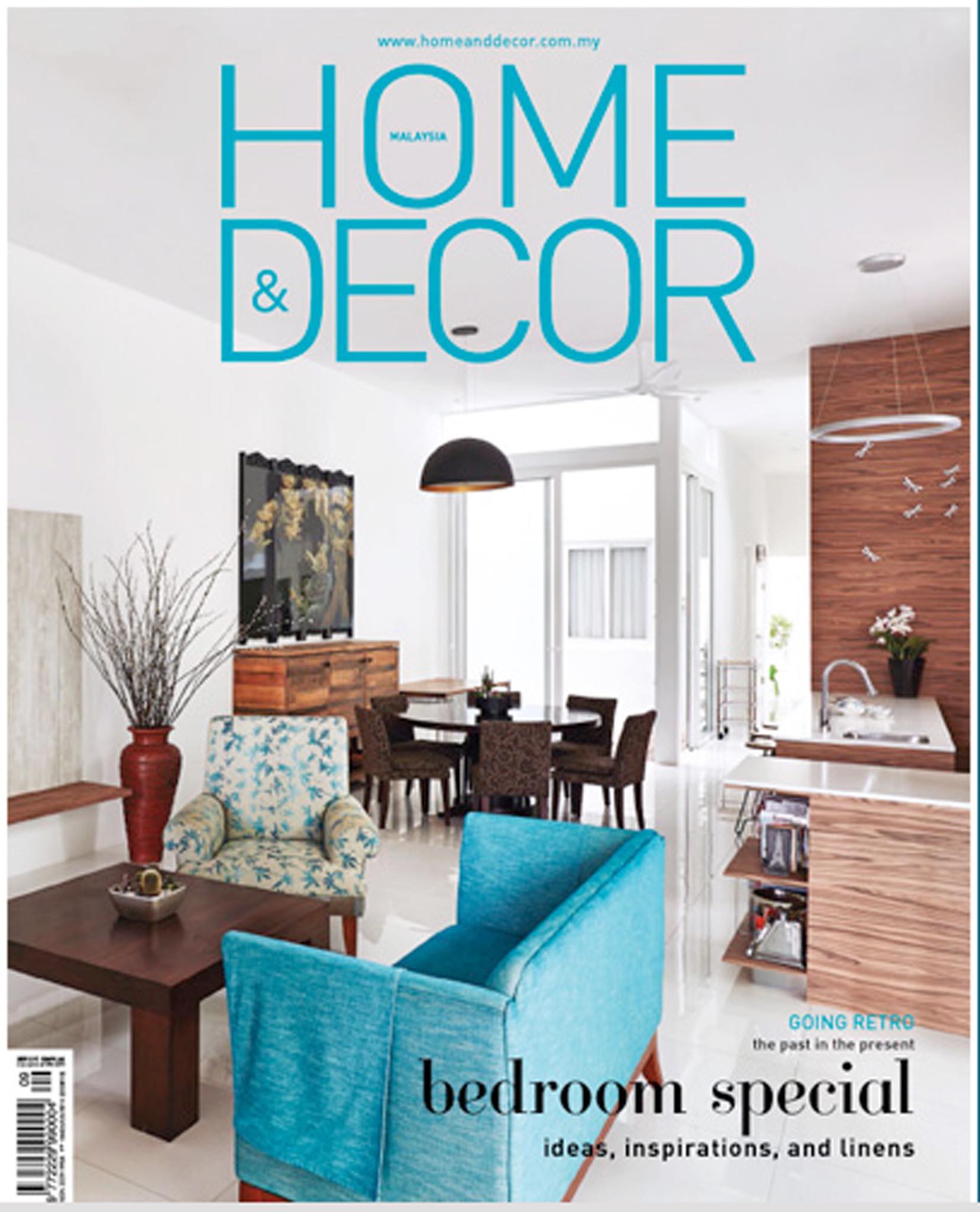 Home & Decor Malaysia, September 2015 Issue